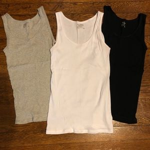 Three brand new tank tops